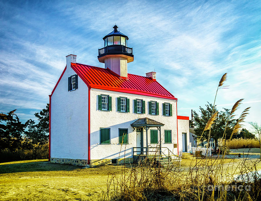 Morning at East Point Light by Nick Zelinsky