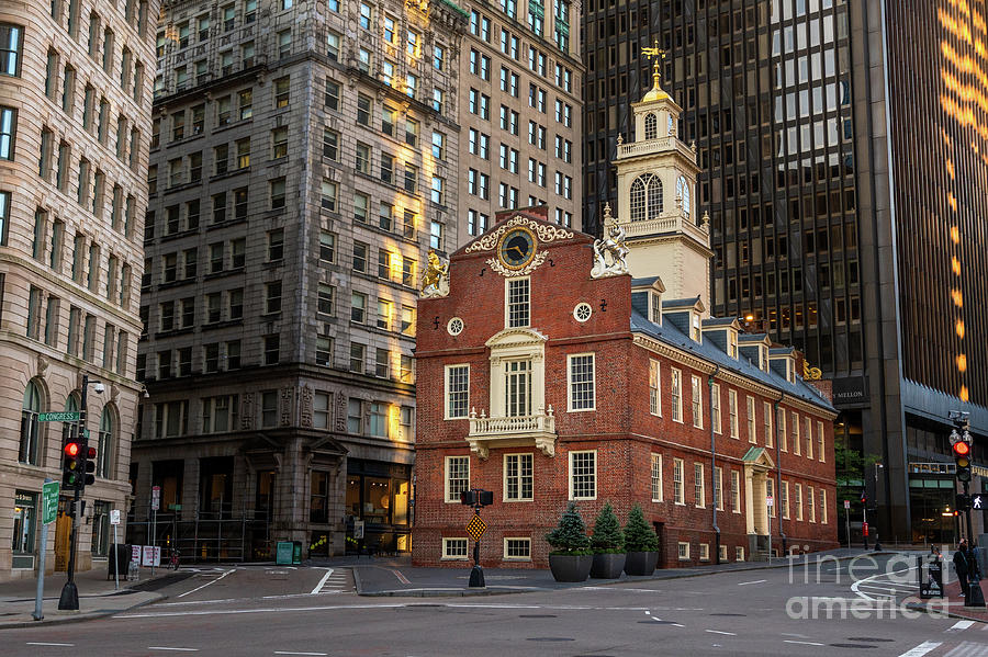 Morning at the Old State House by Jesse MacDonald