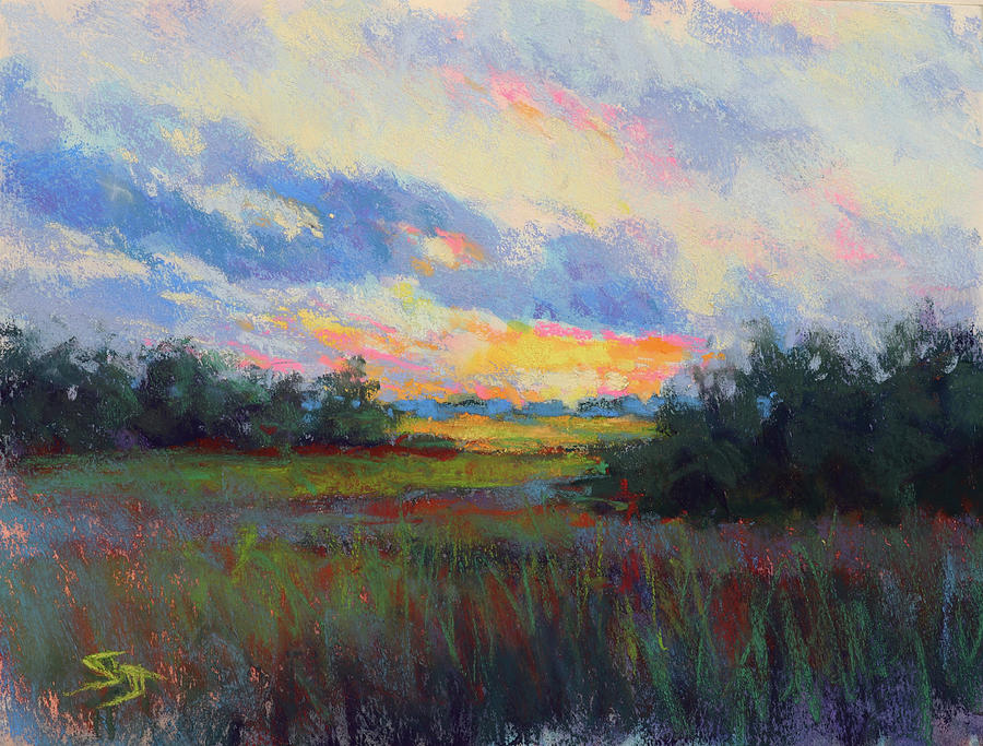 Sunset Painting - Morning Blessings by Susan Jenkins