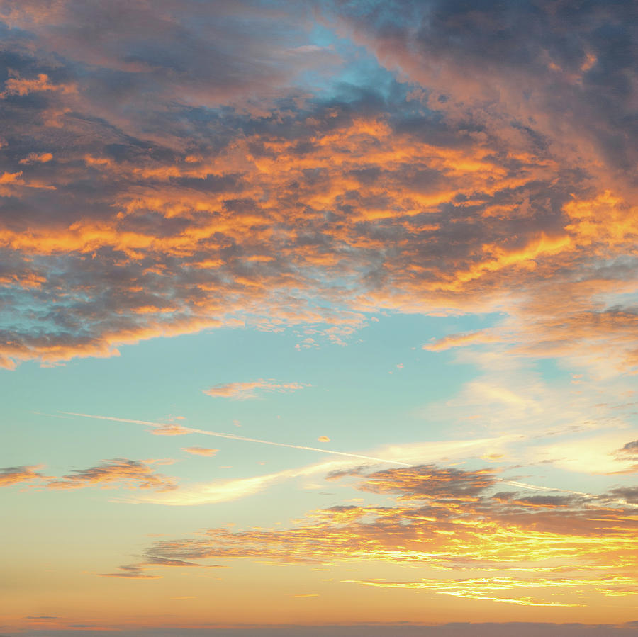 Morning Photograph - Morning Cloudscape by A J Paul