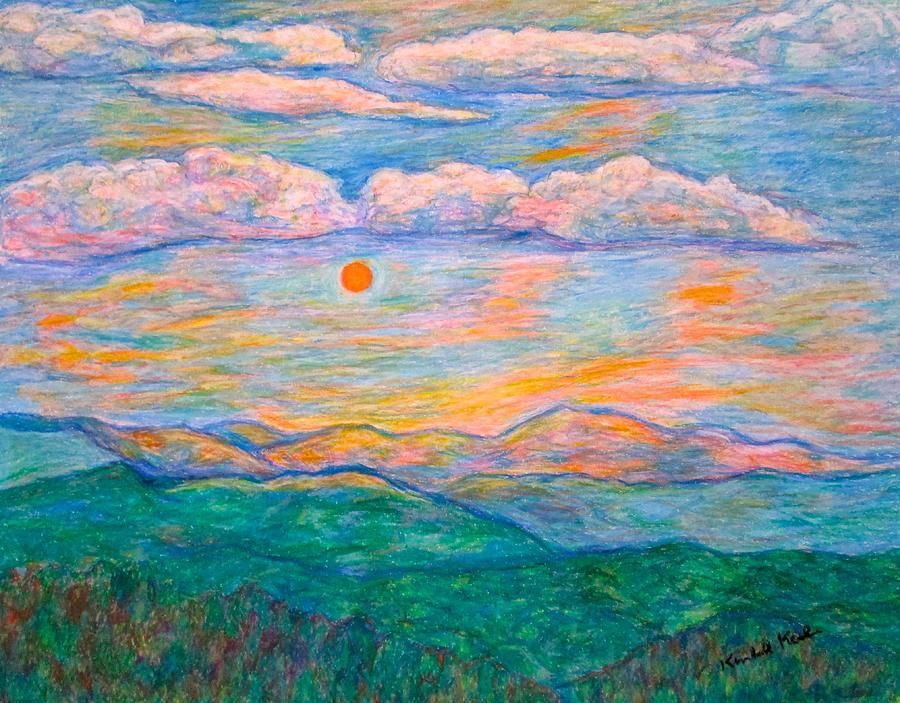 Sunrise Pastel - Morning Color Dance by Kendall Kessler