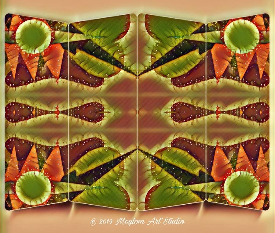 Morning Dew Digital Art - Morning Dew 23  by Moylom Art Studio