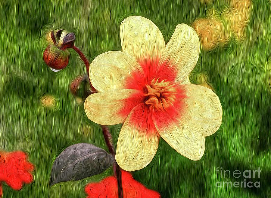 Morning Dew I Digital Art by Kenneth Montgomery