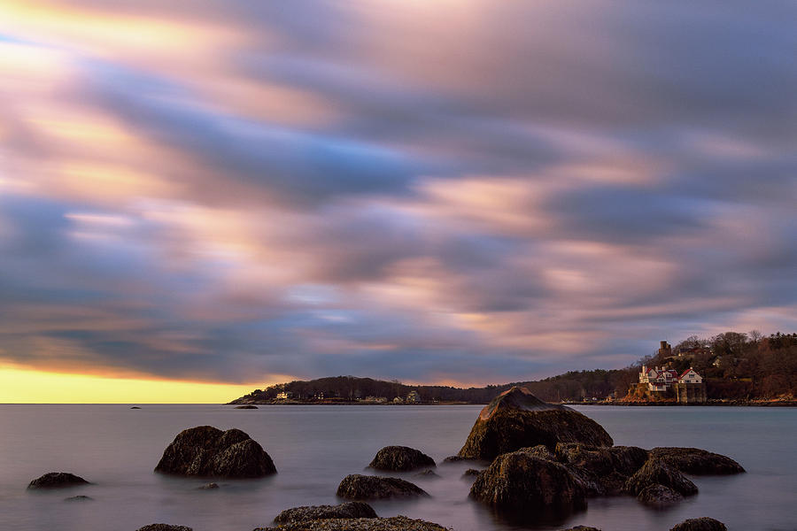 Morning Glow, Stage Fort Park. Gloucester Ma. by Michael Hubley