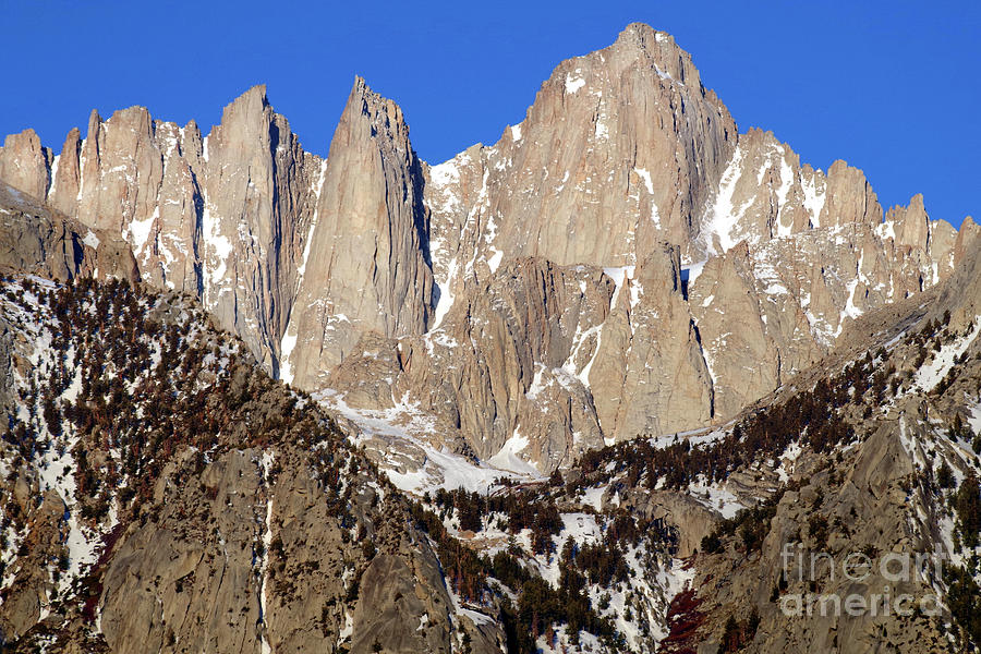 MORNING GRANDEUR, MOUNT WHITNEY by Douglas Taylor