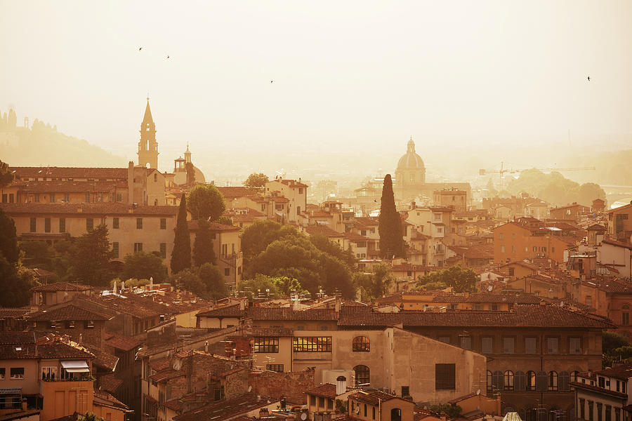 Italy Photograph - Morning in Florence by Andrei Dima