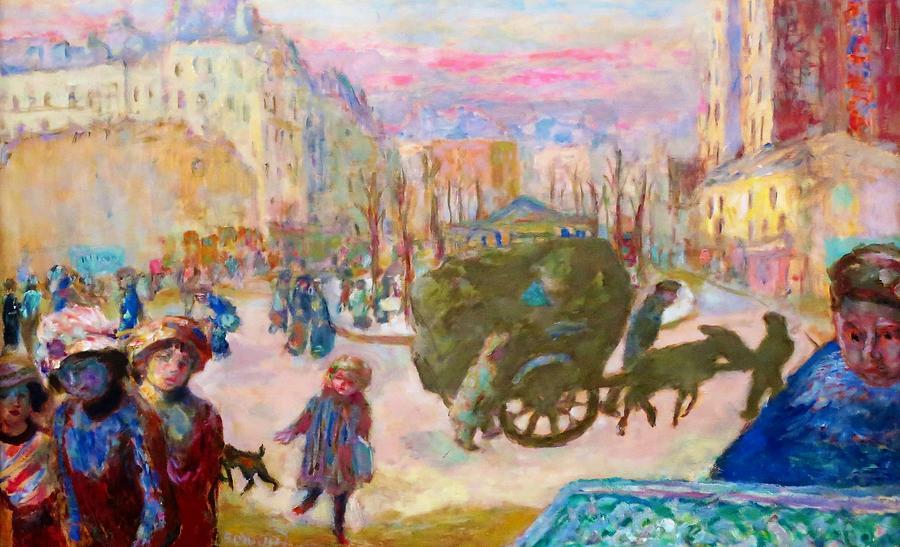 Pierre Bonnard Painting - Morning In Paris - Digital Remastered Edition by Pierre Bonnard