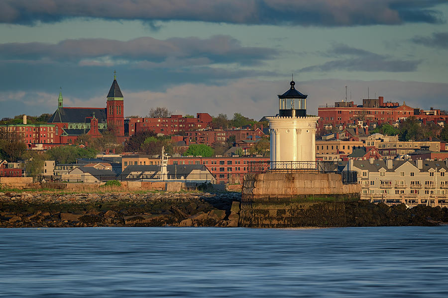 Morning in Portland Harbor by Rick Berk