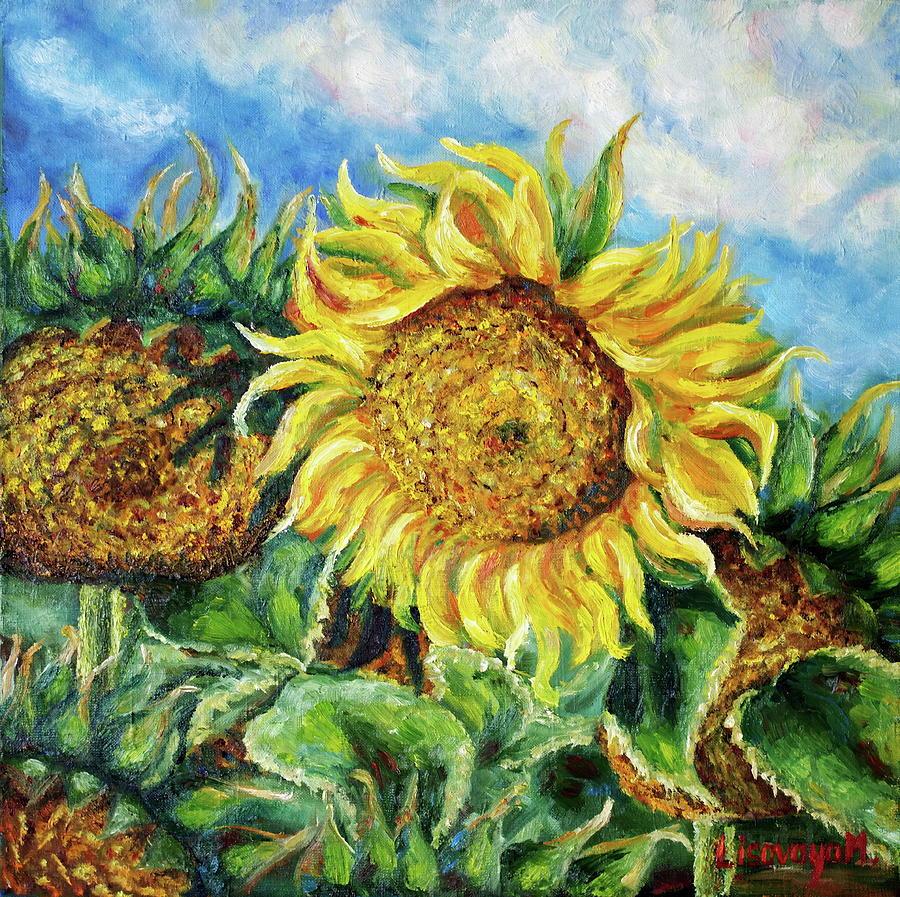 Morning in Ukraine. Flowers Series. by SurfArtTango Marina Lisovaya