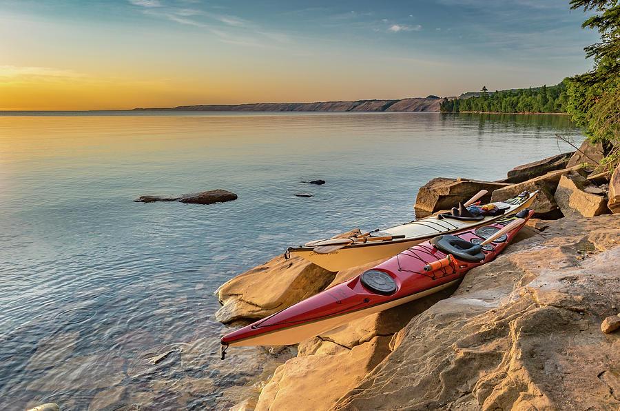 Morning Kayaks by Gary McCormick