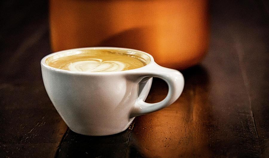 Morning Latte by Paul Bartell