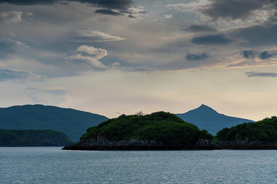 Morning Light at Kukak Bay by Mark Hunter