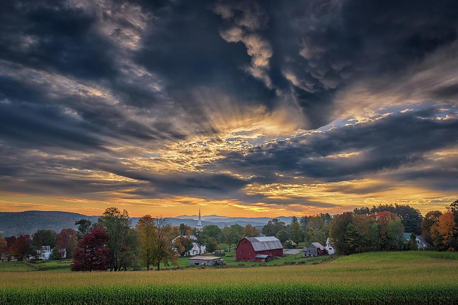 Morning Light in Peacham by Kristen Wilkinson