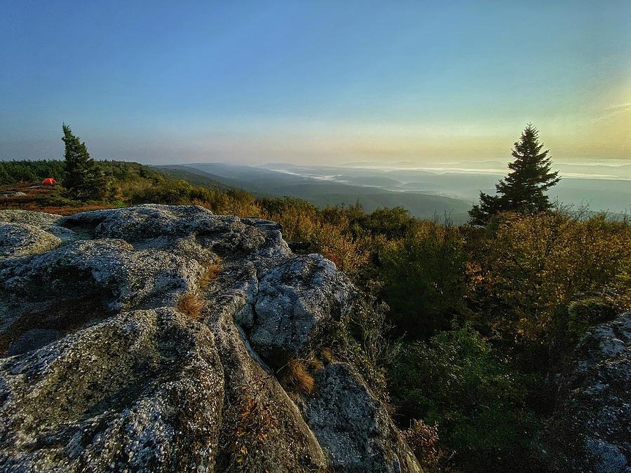 Morning Light on Bear Rocks by Lori Coleman