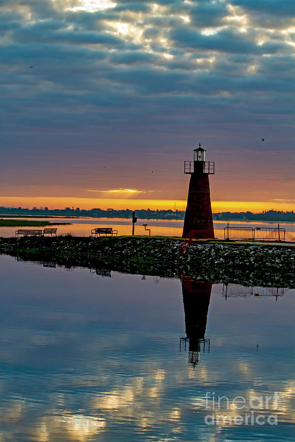 Morning Lighthouse by Blair Howell