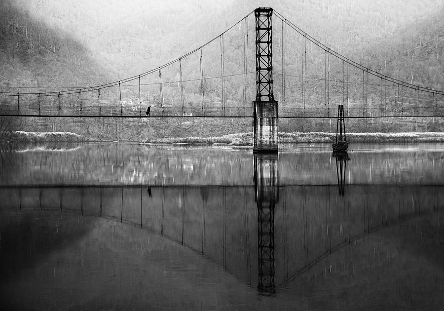 Bridge Photograph - Morning Monday by Julien Oncete