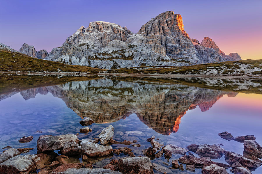 Morning on Laghi dei Piani by Dmytro Korol