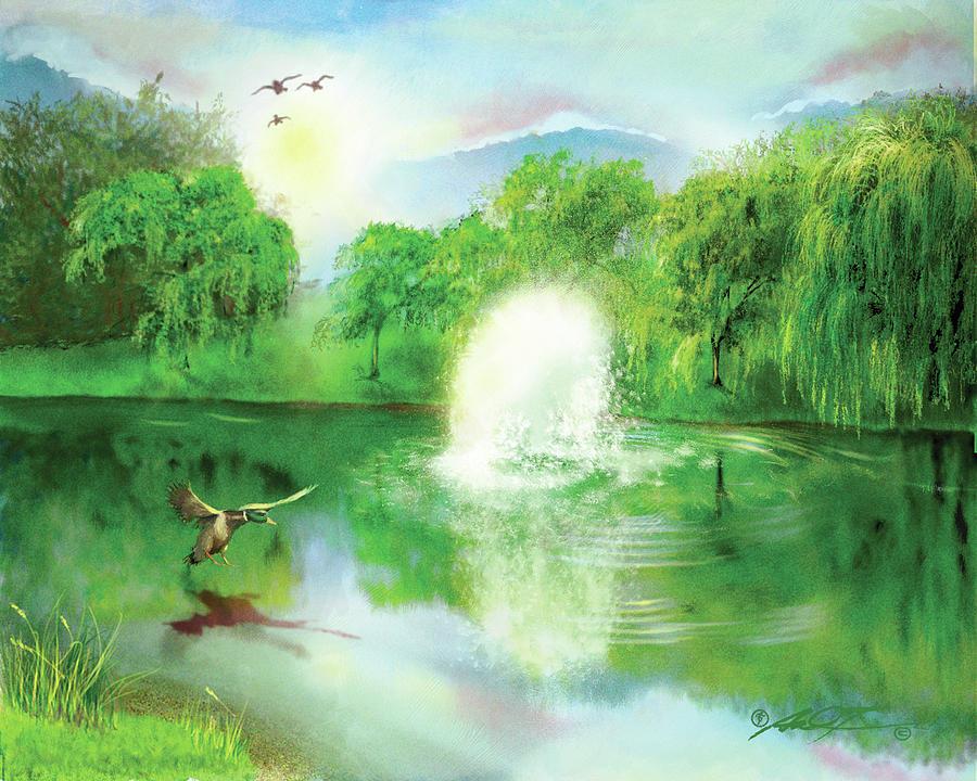Morning Side Pond by Dale Turner