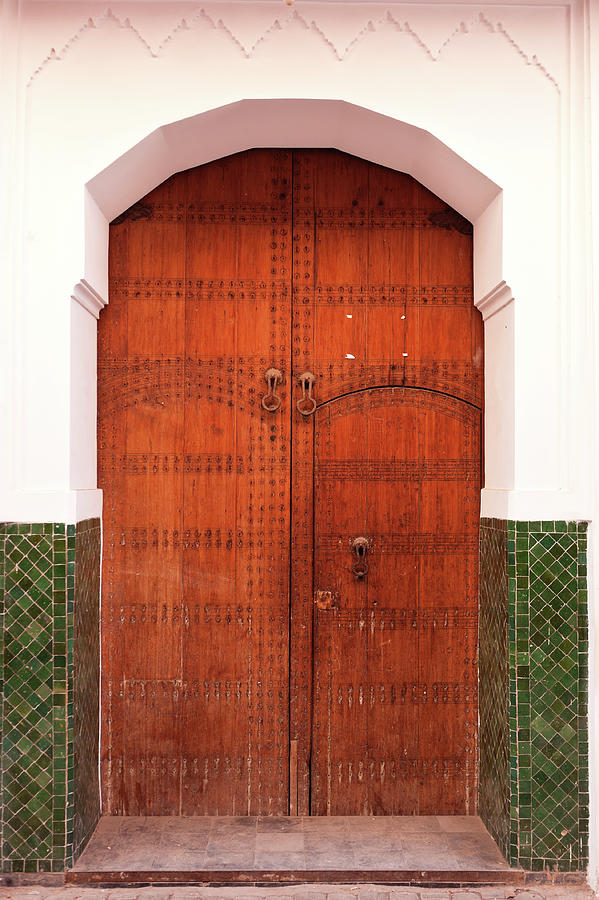 Moroccan Door Photograph by Fumumpa