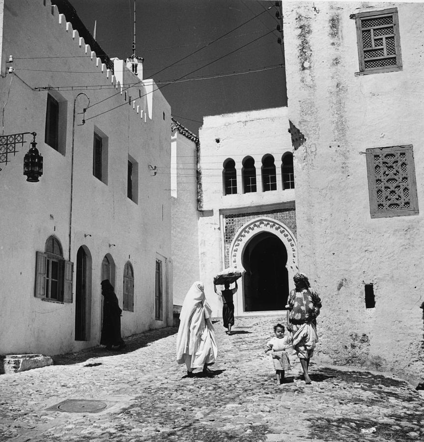 Moroccan Street Photograph by George Pickow