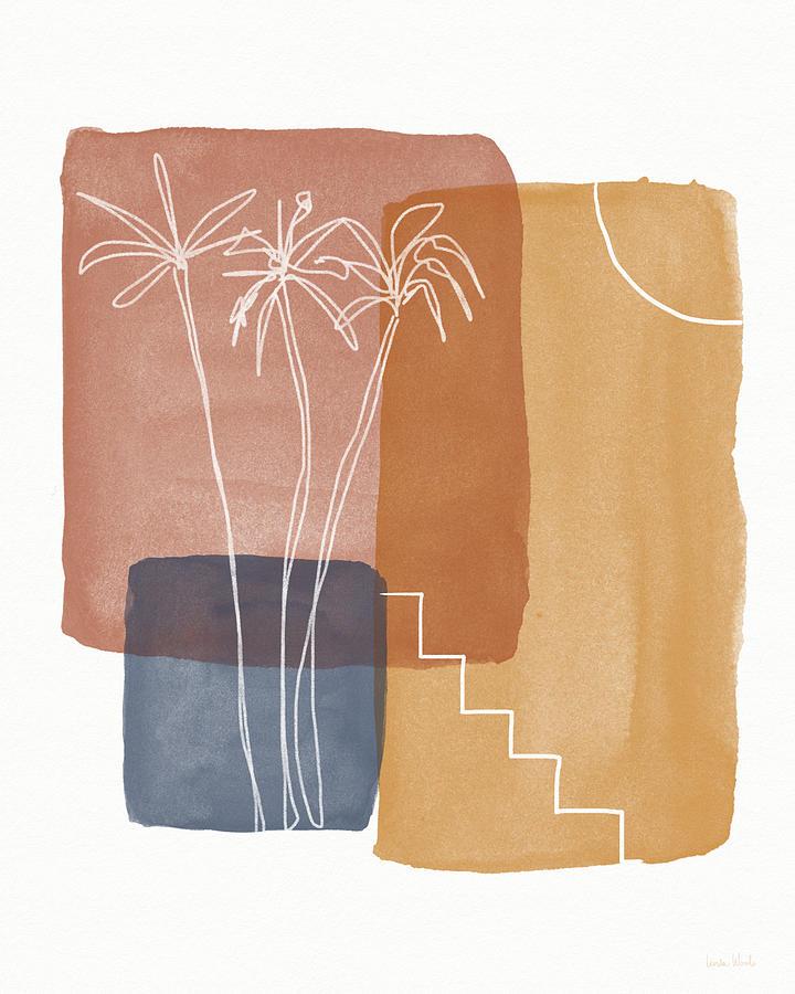 Burnt Orange Painting - Moroccan Sunset 1- Art By Linda Woods by Linda Woods
