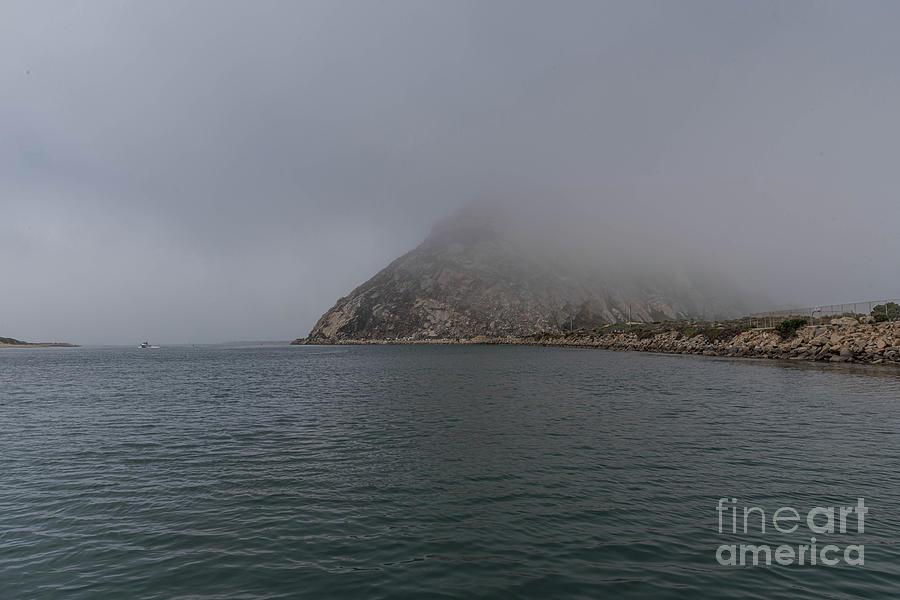 Fog Photograph - Morro Fog  by Jeff Hubbard