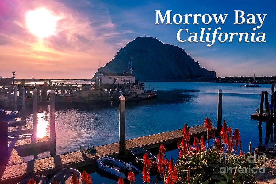 California Photograph - Morrow Bay California by G Matthew Laughton