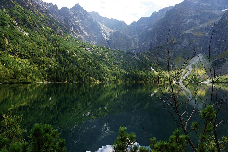 Morskie Oko Lake, Tatra Np. Poland Photograph by Chlaus Lotscher