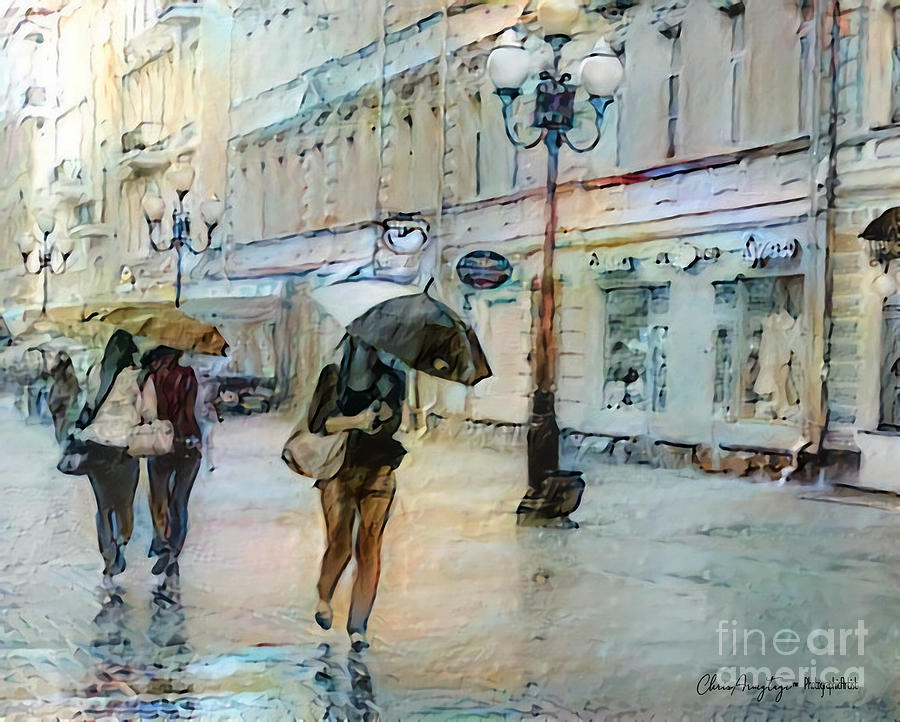 Moscow in the Rain by Chris Armytage