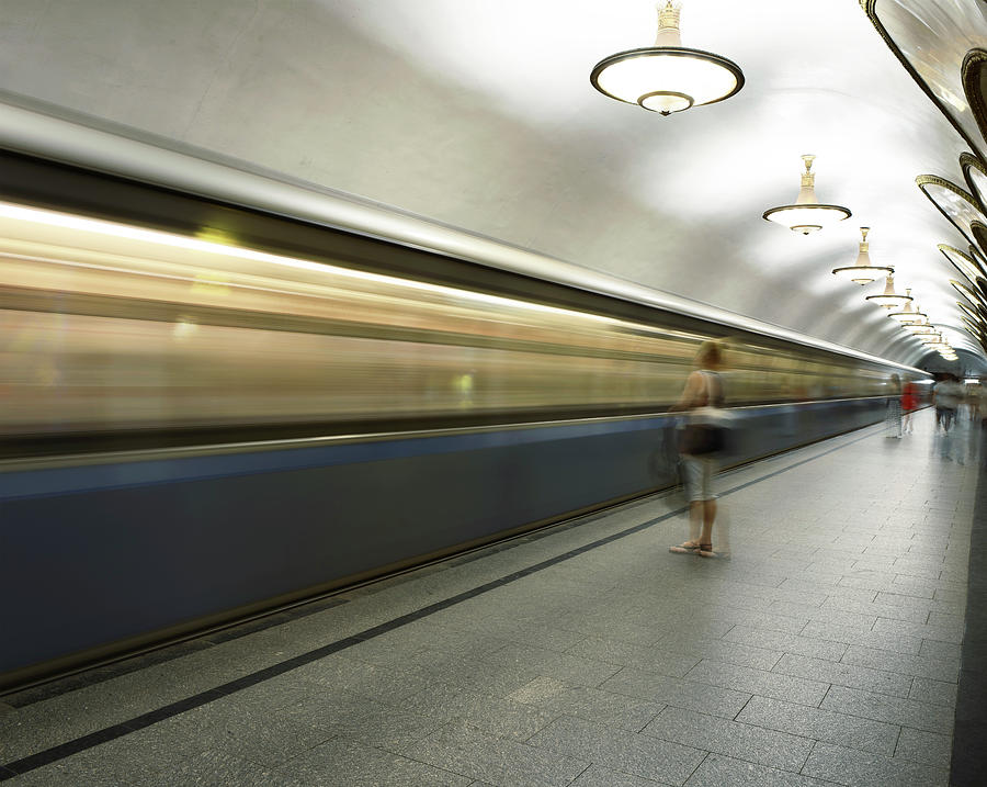 Moscow Metro Photograph by Fmajor