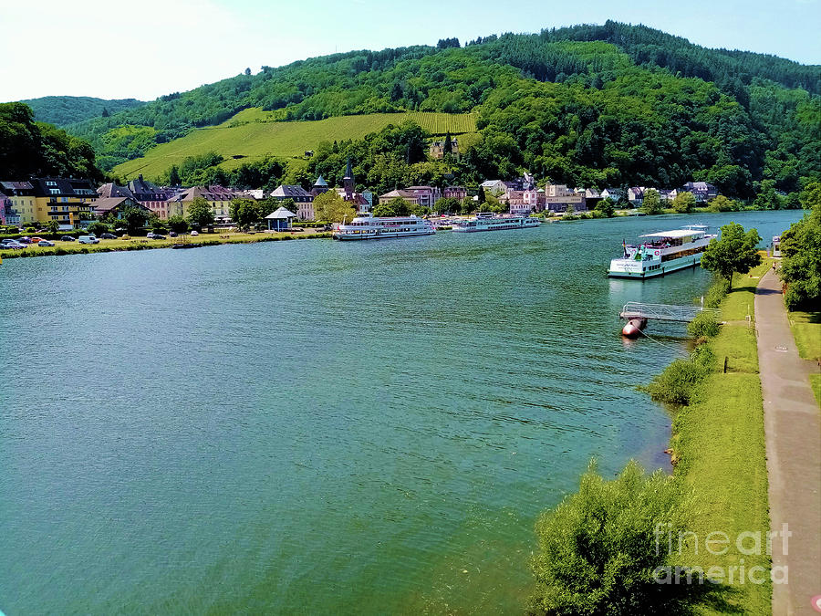 Moselle river Germany by Aapshop