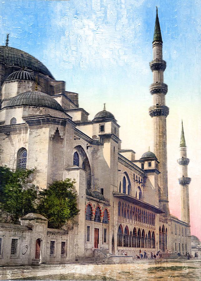 Mosque in Turkey by Carlos Diaz