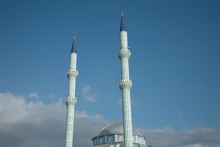 Mosque Minarets Photograph by Julian Ward