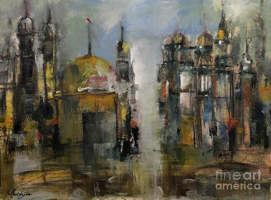 Mosque reflection by Nizar MacNojia