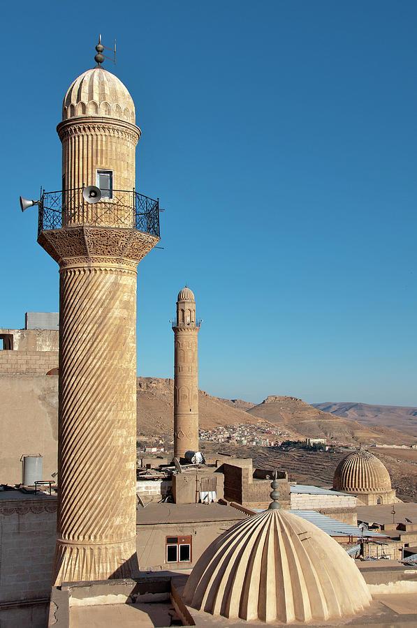 Mosques Of Mardin Photograph by Izzet Keribar