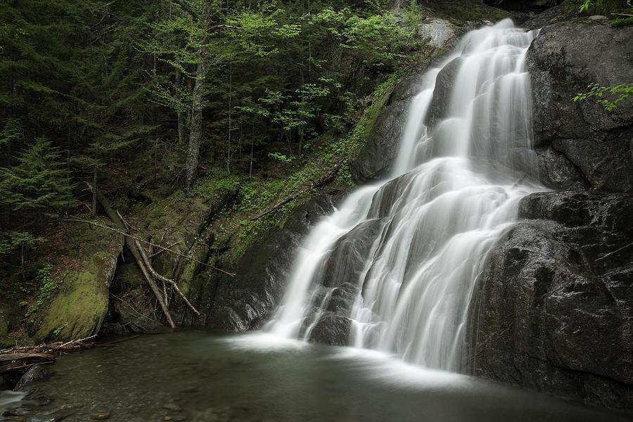 Moss Glen Falls in Granville, Vermont by Greg Parsons