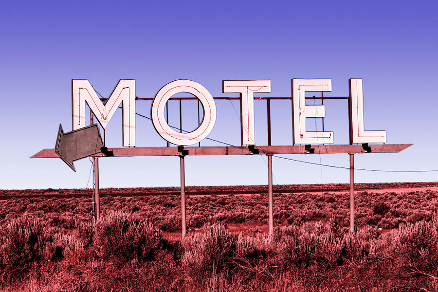 Motel Nowhere Infrared Film Style by Mark Kiver