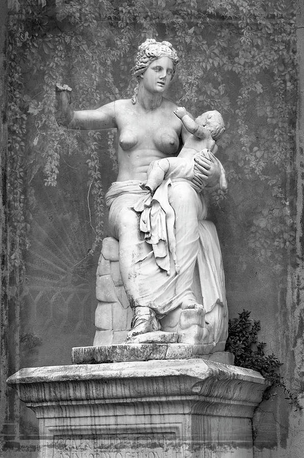 Mother And Child Photograph