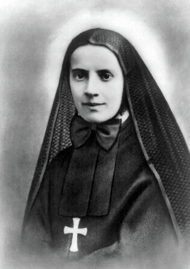1939 Photograph - Mother Cabrini, Italian- American by Science Source