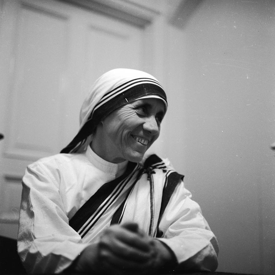 Mother Teresa Photograph by Keystone Features