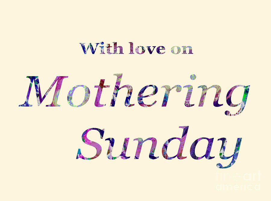 Mothering Sunday 2019 by Corinne Carroll