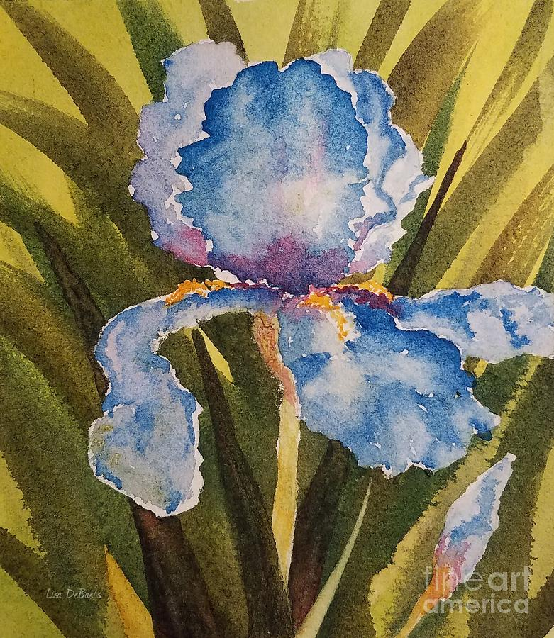 Mother's Day Iris by LISA DEBAETS