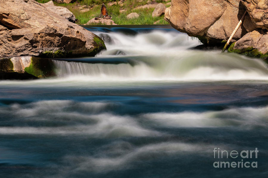 Motion Blur in Eleven Mile Canyon by Steve Krull