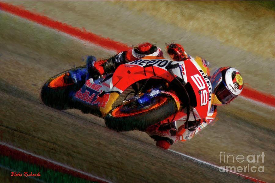 MotoGP Jorge Lorenzo ESP Repsol Honda 2019 by Blake Richards