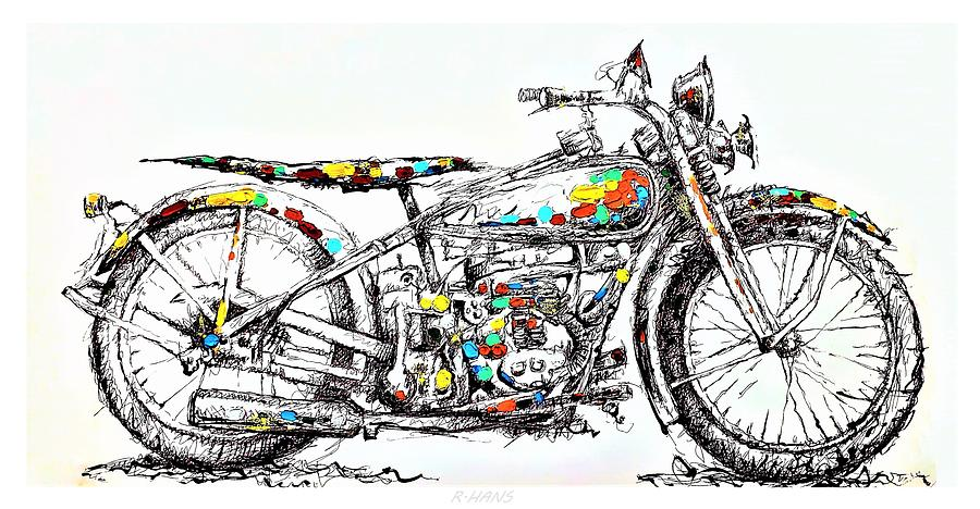 MOTOR CYCLE by Rob Hans