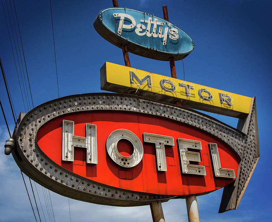 Motor Hotel by Bud Simpson