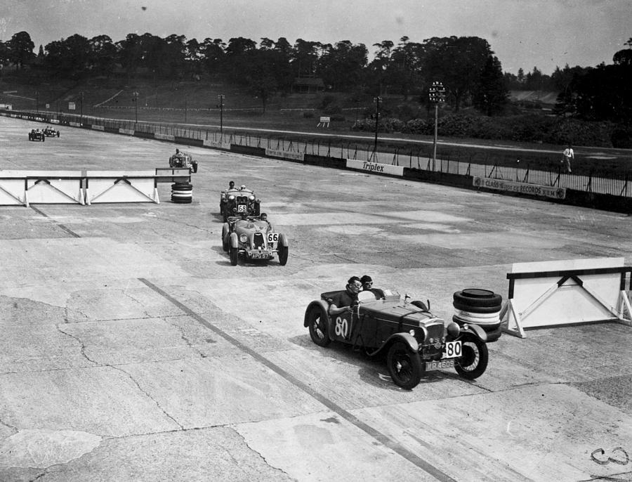 Motor Racing Photograph by A. Hudson