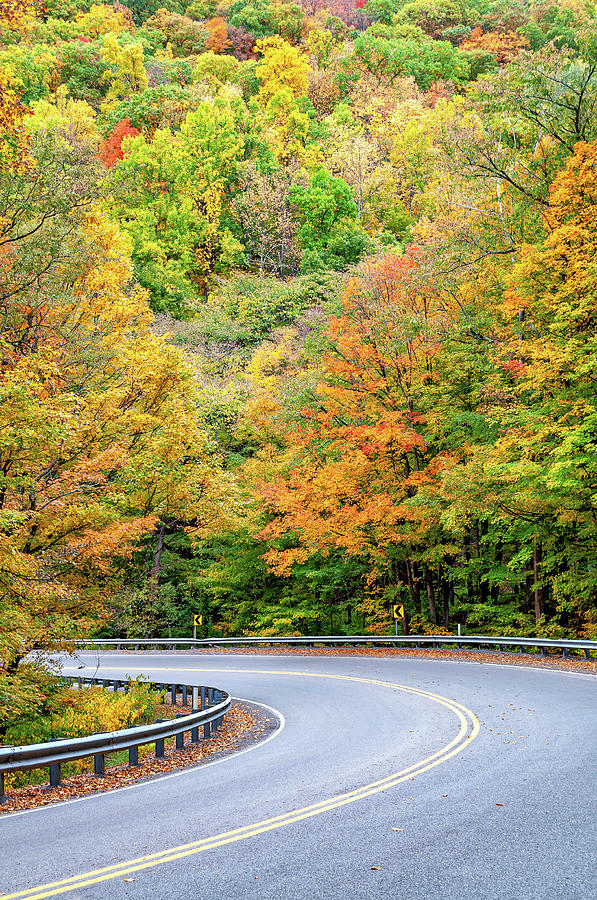 Motorcycle Country - West Virginia Photograph