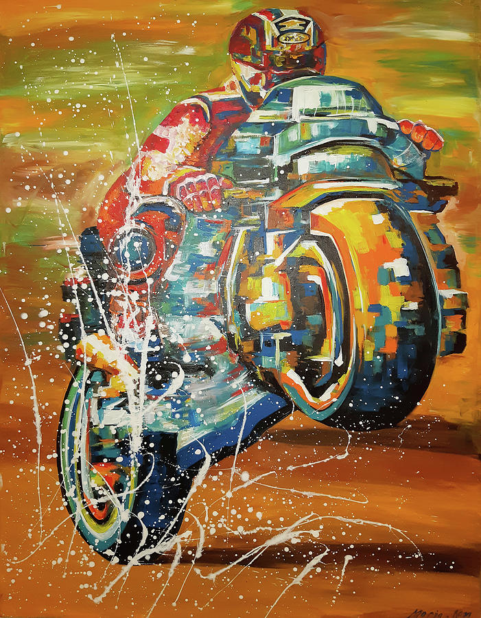 Motorcycle  by MARIA ROM