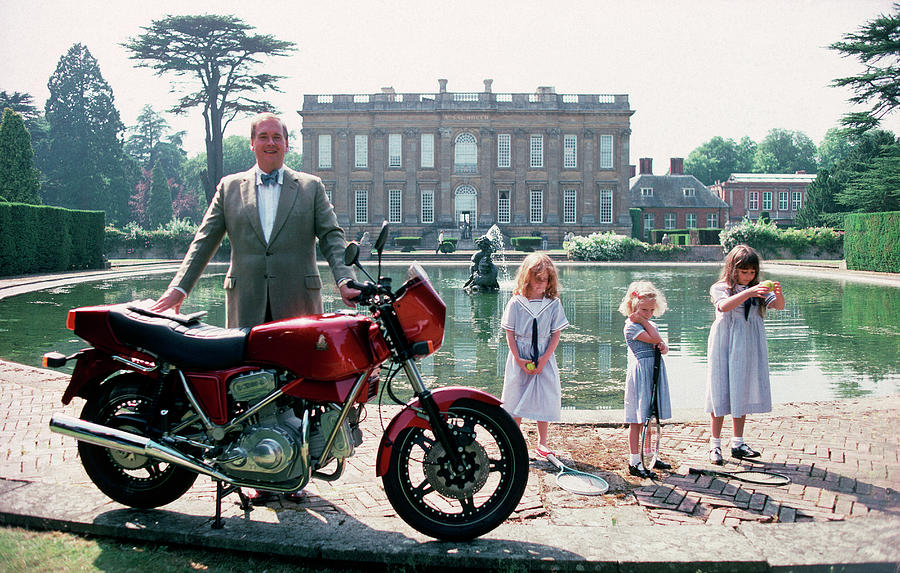 Motorcycling Lord Photograph by Slim Aarons
